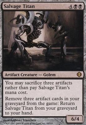 Shards of Alara Foil: Salvage Titan