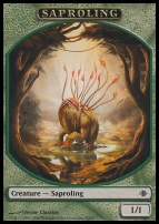 Shards of Alara: Saproling Token