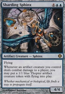Shards of Alara Foil: Sharding Sphinx