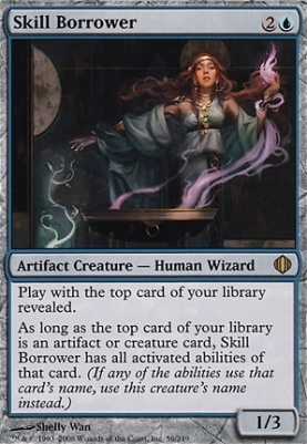 Shards of Alara Foil: Skill Borrower