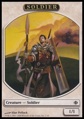 Shards of Alara: Soldier Token