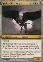 Shards of Alara Foil: Sphinx Sovereign