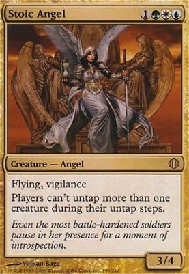 Shards of Alara Foil: Stoic Angel
