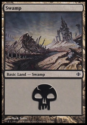 Shards of Alara Foil: Swamp (239 B)
