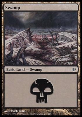 Shards of Alara: Swamp (240 C)
