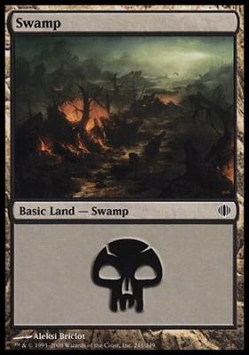 Shards of Alara: Swamp (241 D)