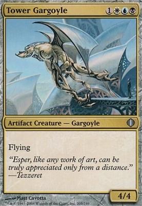 Shards of Alara Foil: Tower Gargoyle