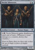 Shards of Alara Foil: Vectis Silencers