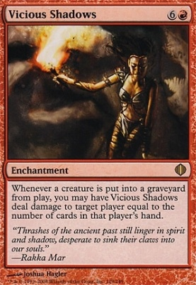 Shards of Alara Foil: Vicious Shadows