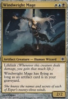 Shards of Alara Foil: Windwright Mage