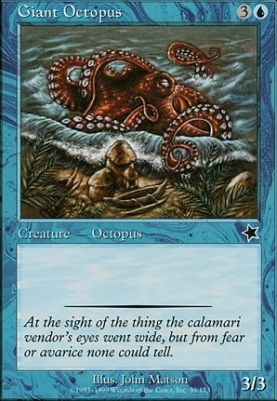 Starter 1999: Giant Octopus