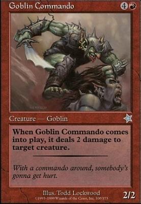 Starter 1999: Goblin Commando