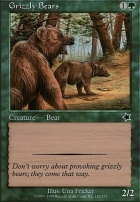 Starter 1999: Grizzly Bears