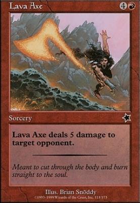 Starter 1999: Lava Axe