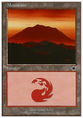 Starter 1999: Mountain (166 A)