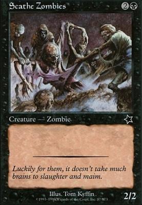 Starter 1999: Scathe Zombies