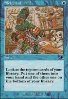 Starter 1999: Sleight of Hand