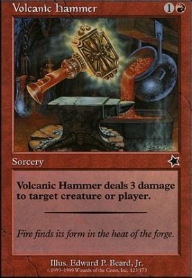 Starter 1999: Volcanic Hammer