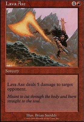 Starter 2000: Lava Axe