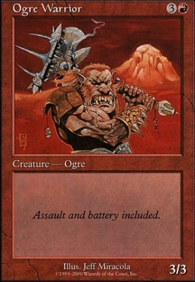 Starter 2000: Ogre Warrior