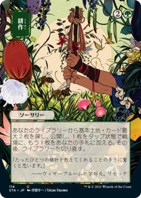 Strixhaven Mystical Archive JPN: Cultivate (114 - JPN Alternate Art)
