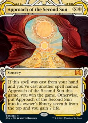 Strixhaven Mystical Archive: Approach of the Second Sun (Foil-Etched)