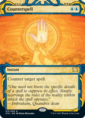 Strixhaven Mystical Archive: Counterspell (Foil-Etched)