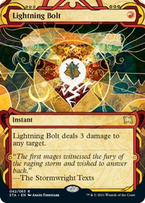 Strixhaven Mystical Archive: Lightning Bolt