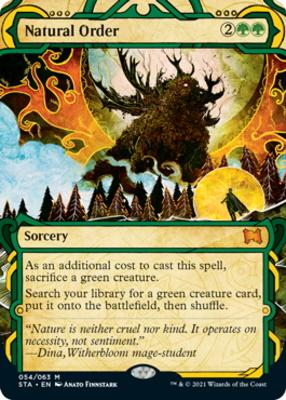 Strixhaven Mystical Archive: Natural Order