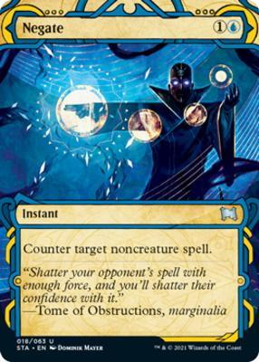Strixhaven Mystical Archive: Negate