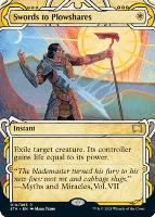 Strixhaven Mystical Archive: Swords to Plowshares (Foil-Etched)