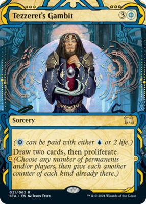 Strixhaven Mystical Archive: Tezzeret's Gambit