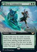 Strixhaven: School of Mages Variants: Basic Conjuration (Extended Art)