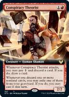 Strixhaven: School of Mages Variants: Conspiracy Theorist (Extended Art)