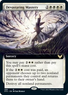 Strixhaven: School of Mages Variants: Devastating Mastery (Extended Art)