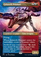Strixhaven: School of Mages Variants Foil: Galazeth Prismari (Borderless)