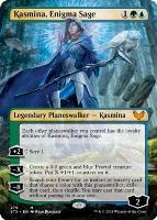 Strixhaven: School of Mages Variants: Kasmina, Enigma Sage (Borderless)