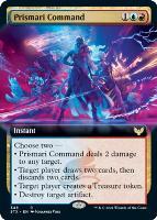 Strixhaven: School of Mages Variants: Prismari Command (Extended Art)