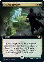 Strixhaven: School of Mages Variants: Rushed Rebirth (Extended Art)