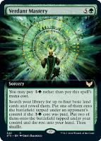 Strixhaven: School of Mages Variants: Verdant Mastery (Extended Art)