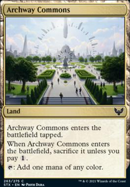 Strixhaven: School of Mages: Archway Commons