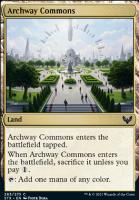 Strixhaven: School of Mages Foil: Archway Commons
