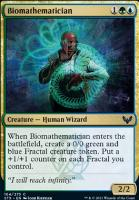 Strixhaven: School of Mages Foil: Biomathematician