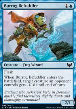 Strixhaven: School of Mages: Burrog Befuddler