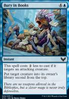 Strixhaven: School of Mages Foil: Bury in Books