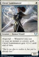 Strixhaven: School of Mages: Clever Lumimancer