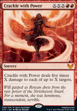 Strixhaven: School of Mages: Crackle with Power