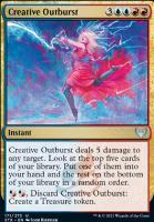 Strixhaven: School of Mages Foil: Creative Outburst