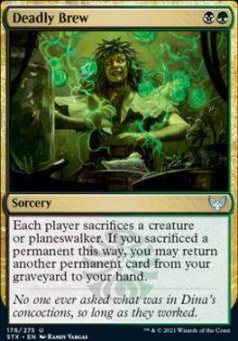 Strixhaven: School of Mages Foil: Deadly Brew