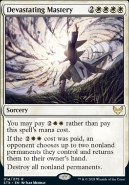 Strixhaven: School of Mages: Devastating Mastery